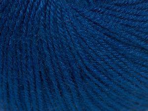 Fiber Content 40% Merino Wool, 40% Acrylic, 20% Polyamide, Navy, Brand Ice Yarns, Yarn Thickness 2 Fine  Sport, Baby, fnt2-65580