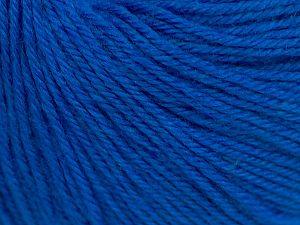 Fiber Content 40% Merino Wool, 40% Acrylic, 20% Polyamide, Brand Ice Yarns, Blue, Yarn Thickness 2 Fine  Sport, Baby, fnt2-65582
