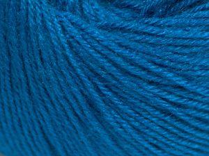 Fiber Content 40% Acrylic, 40% Merino Wool, 20% Polyamide, Turquoise, Brand Ice Yarns, Yarn Thickness 2 Fine  Sport, Baby, fnt2-65583