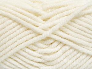 Vezelgehalte 50% Wol, 50% Acryl, White, Brand Ice Yarns, fnt2-65603