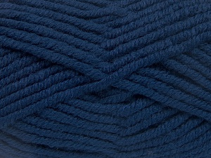 Fiber Content 50% Wool, 50% Acrylic, Brand Ice Yarns, Dark Blue, fnt2-65607