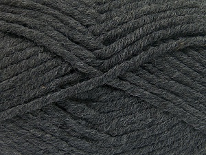 Fiber Content 50% Wool, 50% Acrylic, Brand Ice Yarns, Dark Grey, fnt2-65608