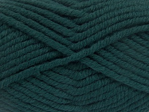 Fiber Content 50% Wool, 50% Acrylic, Teal, Brand Ice Yarns, fnt2-65612
