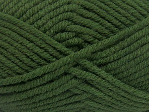 Vezelgehalte 50% Wol, 50% Acryl, Brand Ice Yarns, Green, fnt2-65615