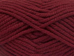 Fiber Content 50% Wool, 50% Acrylic, Brand Ice Yarns, Burgundy, fnt2-65620