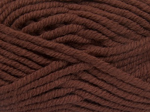 Fiber Content 50% Wool, 50% Acrylic, Brand Ice Yarns, Brown, fnt2-65622