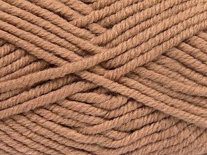Fiber Content 50% Wool, 50% Acrylic, Brand Ice Yarns, Camel, fnt2-65626