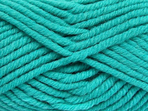 Fiber Content 50% Wool, 50% Acrylic, Turquoise, Brand Ice Yarns, fnt2-65635