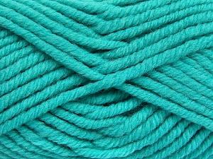 Vezelgehalte 50% Wol, 50% Acryl, Turquoise, Brand Ice Yarns, fnt2-65635