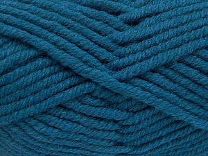 Vezelgehalte 50% Acryl, 50% Wol, Turquoise, Brand Ice Yarns, fnt2-65636