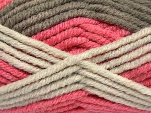 Fiber Content 50% Wool, 50% Acrylic, Salmon Shades, Brand Ice Yarns, Camel, Beige, fnt2-65642