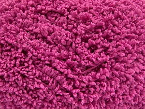 Fiber Content 100% Micro Polyester, Brand Ice Yarns, Fuchsia, Yarn Thickness 5 Bulky  Chunky, Craft, Rug, fnt2-65669