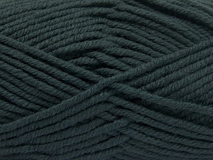 Fiber Content 70% Acrylic, 30% Wool, Brand Ice Yarns, Dark Green, fnt2-65718