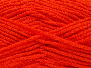 Fiber Content 70% Acrylic, 30% Wool, Orange, Brand Ice Yarns, fnt2-65722