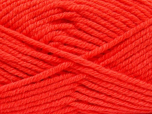 İçerik 70% Akrilik, 30% Yün, Neon Orange, Brand Ice Yarns, fnt2-65723