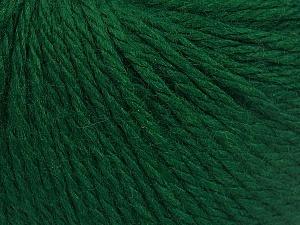 Fiber Content 40% Acrylic, 40% Merino Wool, 20% Polyamide, Brand Ice Yarns, Emerald Green, fnt2-65731