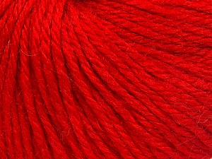 Fiber Content 40% Acrylic, 40% Merino Wool, 20% Polyamide, Red, Brand Ice Yarns, fnt2-65739