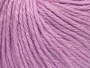 Fiber Content 40% Acrylic, 40% Merino Wool, 20% Polyamide, Light Lilac, Brand Ice Yarns, fnt2-65744