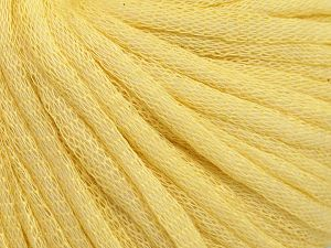 Fiber Content 67% Cotton, 33% Polyamide, Light Yellow, Brand Ice Yarns, fnt2-65772