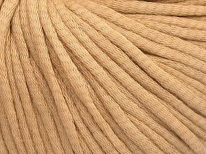 Fiber Content 67% Cotton, 33% Polyamide, Milky Brown, Brand Ice Yarns, fnt2-65774