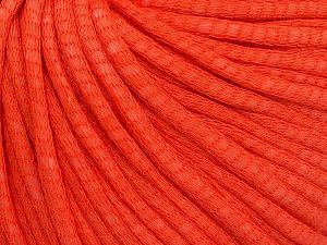 Fiber Content 67% Cotton, 33% Polyamide, Brand Ice Yarns, Dark Orange, fnt2-65777