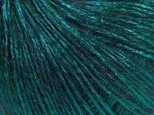 Fiber Content 70% Polyamide, 19% Merino Wool, 11% Acrylic, Brand Ice Yarns, Emerald Green, fnt2-65831