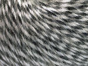 Fiber Content 70% Polyamide, 19% Merino Wool, 11% Acrylic, White, Brand Ice Yarns, Black, fnt2-65894