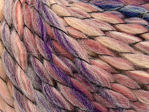 Vezelgehalte 70% Premium acryl, 15% Alpaca, 15% Wol, Purple, Pink Shades, Brand Ice Yarns, Blue, Beige, Yarn Thickness 6 SuperBulky  Bulky, Roving, fnt2-65912
