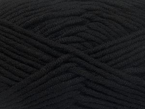 Fiber Content 50% Acrylic, 50% Merino Wool, Brand Ice Yarns, Black, fnt2-65937