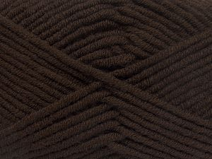 Fiber Content 50% Acrylic, 50% Merino Wool, Brand Ice Yarns, Coffee Brown, fnt2-65941