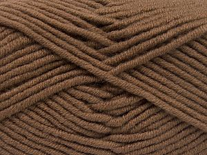 Fiber Content 50% Acrylic, 50% Merino Wool, Brand Ice Yarns, Brown, fnt2-65943