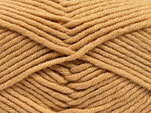 Fiberinnehåll 50% Merino, 50% Akryl, Light Brown, Brand Ice Yarns, fnt2-65946