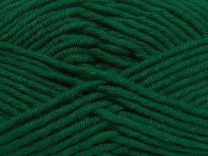 Fiber Content 50% Acrylic, 50% Merino Wool, Brand Ice Yarns, Dark Green, fnt2-65949