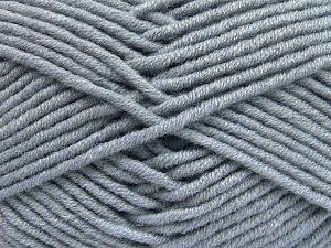 Fiberinnehåll 50% Merino, 50% Akryl, Light Indigo Blue, Brand Ice Yarns, fnt2-65952