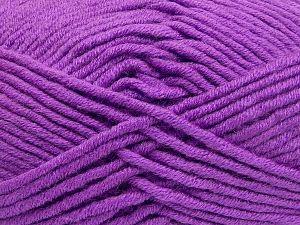 Fiber Content 50% Acrylic, 50% Merino Wool, Lavender, Brand Ice Yarns, fnt2-65957