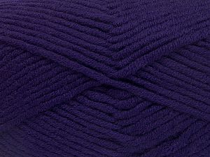 Fiber Content 50% Acrylic, 50% Merino Wool, Purple, Brand Ice Yarns, fnt2-65958