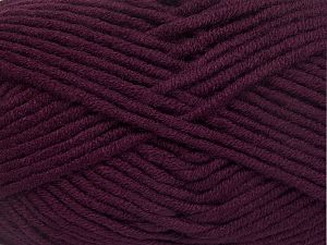 Fiber Content 50% Acrylic, 50% Merino Wool, Maroon, Brand Ice Yarns, fnt2-65959