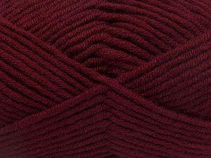 Fiber Content 50% Acrylic, 50% Merino Wool, Brand Ice Yarns, Burgundy, fnt2-65960