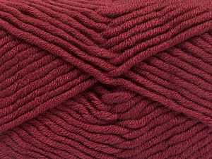 Fiber Content 50% Acrylic, 50% Merino Wool, Light Burgundy, Brand Ice Yarns, fnt2-65963