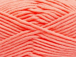 Fiber Content 50% Acrylic, 50% Merino Wool, Light Salmon, Brand Ice Yarns, fnt2-65967