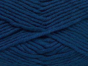 Περιεχόμενο ίνας 50% Ακρυλικό, 50% Μαλλί Μερινός , Brand Ice Yarns, Dark Blue, fnt2-65970