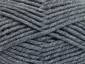 Fiber Content 50% Wool, 50% Acrylic, Brand Ice Yarns, Dark Grey, fnt2-65972