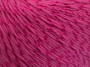 Fiber Content 70% Mercerised Cotton, 30% Viscose, Brand Ice Yarns, Candy Pink, fnt2-65992