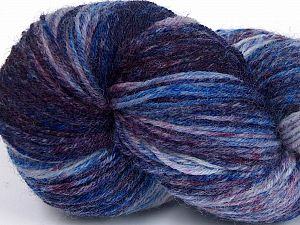 Please note that this is a hand-dyed yarn. Colors in different lots may vary because of the charateristics of the yarn. Also see the package photos for the colorway in full; as skein photos may not show all colors. Fiberinnehåll 75% Super Wash Ull, 25% Polyamid, Maroon Shades, Brand Ice Yarns, Blue Shades, fnt2-66015