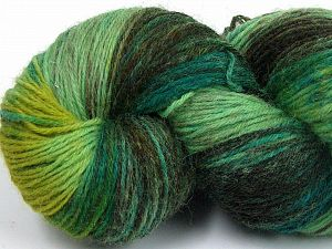 Please note that this is a hand-dyed yarn. Colors in different lots may vary because of the charateristics of the yarn. Also see the package photos for the colorway in full; as skein photos may not show all colors. Fiber Content 75% Super Wash Wool, 25% Polyamide, Khaki, Brand Ice Yarns, Green Shades, fnt2-66020