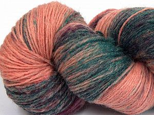 Please note that this is a hand-dyed yarn. Colors in different lots may vary because of the charateristics of the yarn. Also see the package photos for the colorway in full; as skein photos may not show all colors. Fiberinnehåll 75% Super Wash Ull, 25% Polyamid, Salmon Shades, Brand Ice Yarns, Dark Green, fnt2-66022