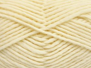 Fiber Content 100% Wool, Brand Ice Yarns, Cream, fnt2-66045