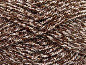 Bulky  Fiber Content 100% Acrylic, Brand Ice Yarns, Brown Shades, fnt2-66046