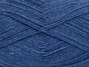İçerik 60% Merino Yün, 40% Akrilik, Jeans Blue, Brand Ice Yarns, fnt2-66048