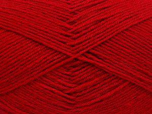 İçerik 60% Merino Yün, 40% Akrilik, Red, Brand Ice Yarns, fnt2-66049